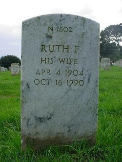 Ruth F Stevens