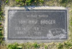 Ida May <i>Curtis</i> Badger