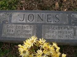 Geo. Luther Jones