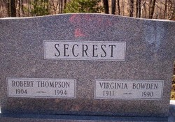Robert Thompson Secrest