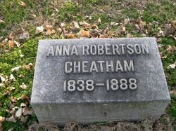 Anna Robertson Cheatham