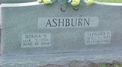 Donna Elvena <i>Hammons</i> Ashburn