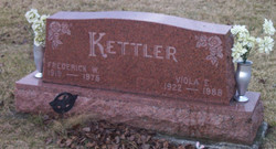 Frederick W Kettler