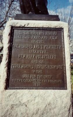 120th New York Infantry Monument