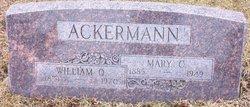 William O. Ackermann
