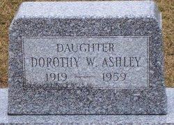Dorothy Wilhelmenia Ashley