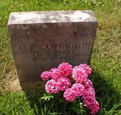 Susie Ann <i>Wheeler</i> Covington