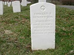 Edward F Henderson