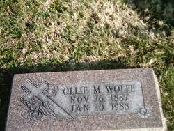Ollie Minerva <i>Capps</i> Wolfe