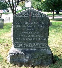 Col Mottrom Dulany Ball
