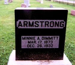 Minnie Augusta <i>Dimmitt</i> Armstrong