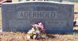William Douthard Aderhold