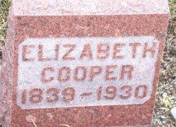 Elizabeth Cooper