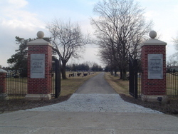 New Agudas Achim Cemetery