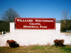 Williams Southside Memorial Park