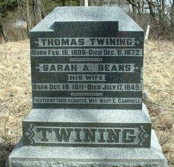 Sarah A. <i>Beans</i> Twining