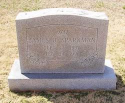 James D Sparkman