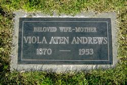 Viola M <i>Aten</i> Andrews
