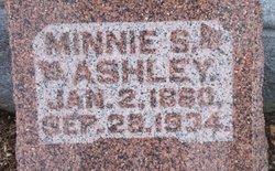 Minnie (Wilhelmenia) <i>Shaefer</i> Ashley