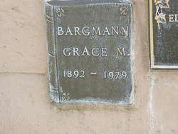 Grace <i>Madison</i> Bargmann
