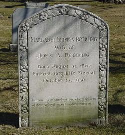 Margaret Shippen <i>McIlvaine</i> Roebling