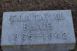 Ella <i>Taylor</i> Blair