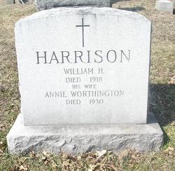 Annie <i>Worthington</i> Harrison