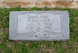 David Earl Bergstrom