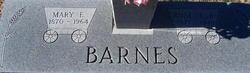Mary E. Barnes