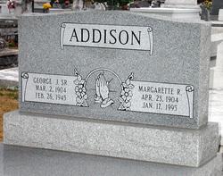 George Joseph Addison, Sr
