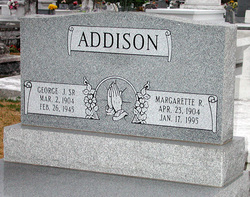 Margarette <i>Robert</i> Addison