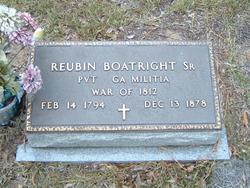 Pvt Reubin Boatright, Sr