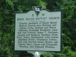 First Baptist Church of Beech Island Cemetery