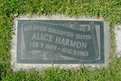 Alice Jennie Harmon
