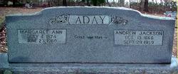 Margaret Ann Peggy <i>Church</i> Aday