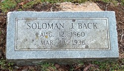 Solomon J. Back