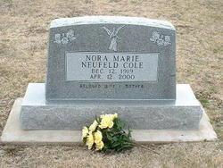 Nora Marie <i>Jarvis Neufeld</i> Cole