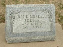 Irene <i>Merrell</i> Bolten