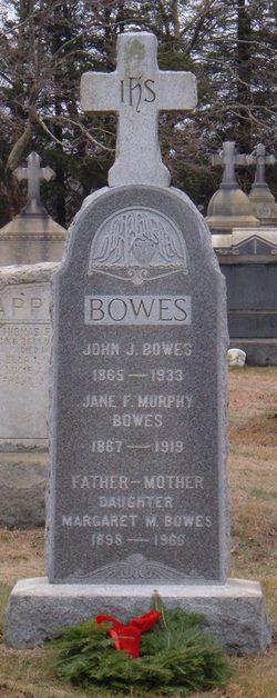 Margaret M Bowes