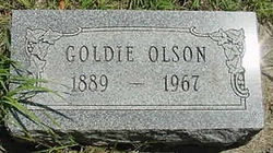 Goldie B. <i>House</i> Olson