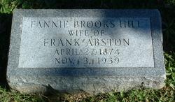 Fannie Brooks <i>Hill</i> Abston
