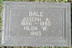 Hilda W Bale
