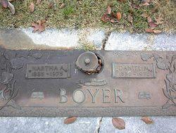 Martha A <i>Jordan</i> Boyer