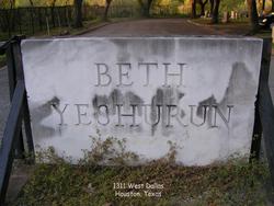 Beth Yeshurun Cemetery Allen Parkway