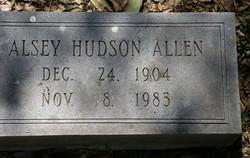 Alsey Hudson Allen