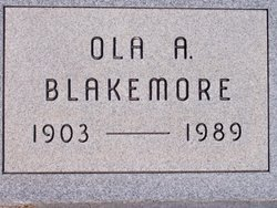 Ola Allice <i>Francis</i> Blakemore