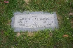 Ara R <i>Reed</i> Carnahan