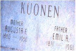Augusta <i>Voss</i> Kuonen