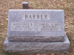 Marguerite <i>Beatty</i> Barber