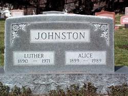 Alice <i>Pingleton</i> Johnston